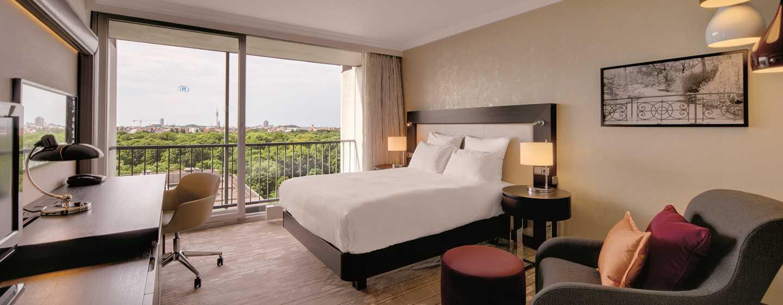 Hotel Hilton Munich City, Alemanha – Quarto Queen Hilton