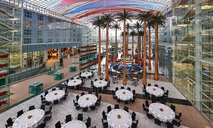 Hilton Munich Airport, Germany - Atrium