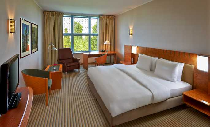 Hilton Munich Airport, Germania - Camera con letto king size