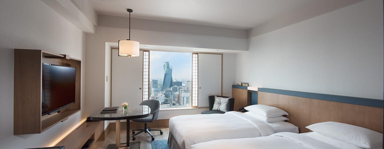 Hilton Nagoya - ห้องพักเตียงแฝด