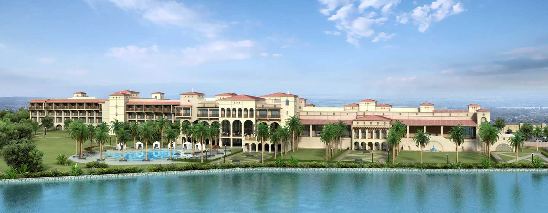 Hôtel Hilton N'Djamena, Tchad - Façade extérieure arrière