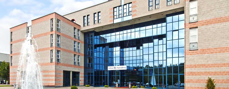 Hilton Nuremberg Hotel– Außenansicht