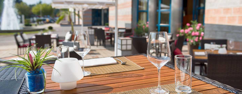 Hilton Nuremberg– Lounge– Terrasse