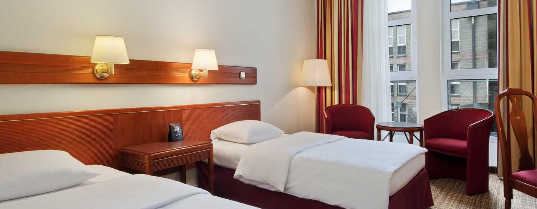 Hilton Nuremberg– Zweibettzimmer