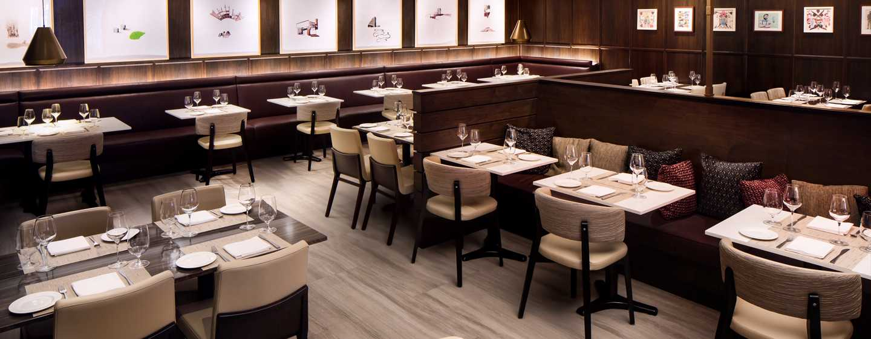 Hilton Brooklyn New York, USA– Restaurant Black Walnut