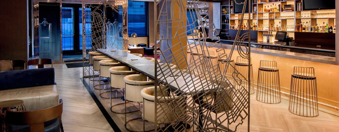 Hilton Brooklyn New York, EE. UU. - Bar y lounge Black Walnut