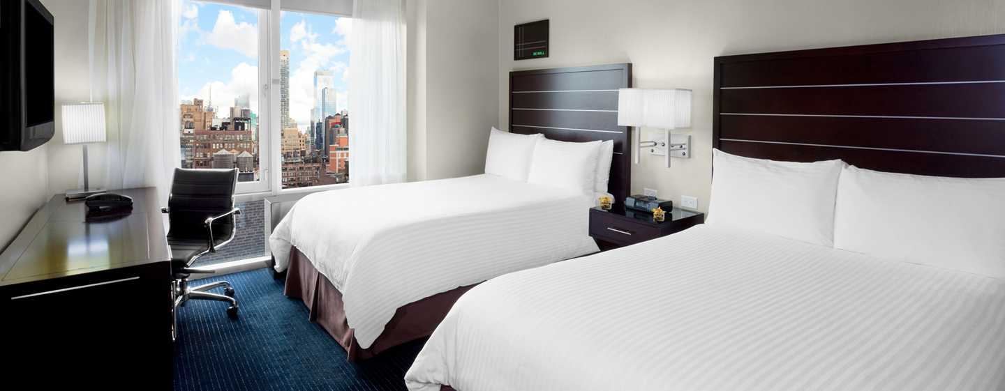 Hilton New York Fashion District hotel - Zweibettzimmer