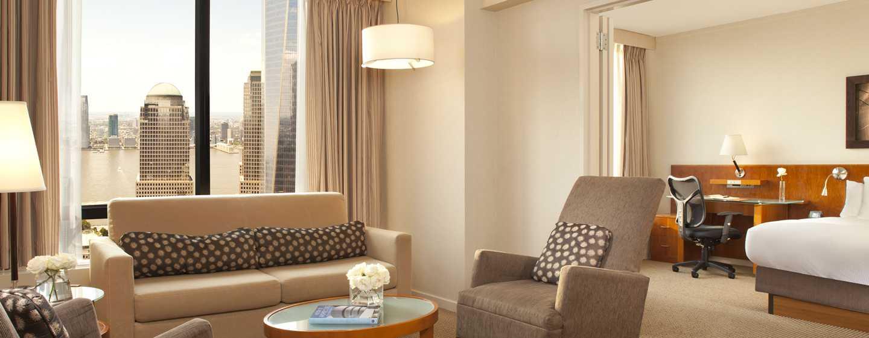 Millenium Hilton Hotel in het financiële district van NYC