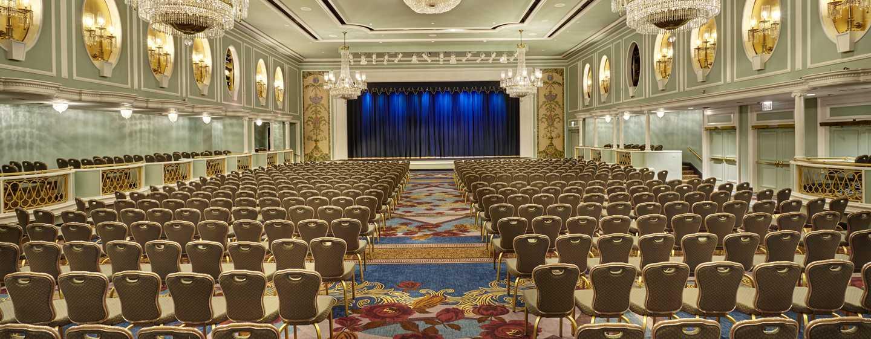Veranstalten Sie im Hotel große Konferenzen oder Kongresse