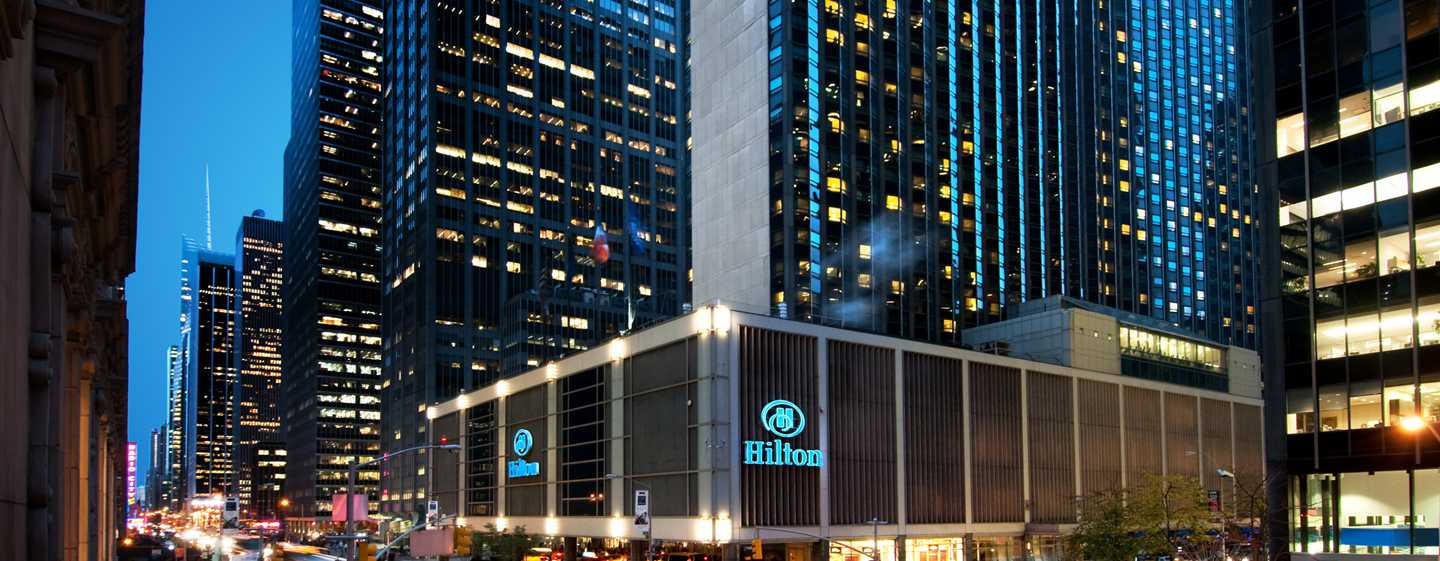 Hilton New York Midtown Hotel, USA – Fasad