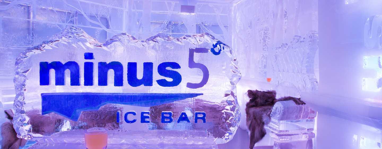 New York Hilton Midtown, NY - minus5 Ice Bar