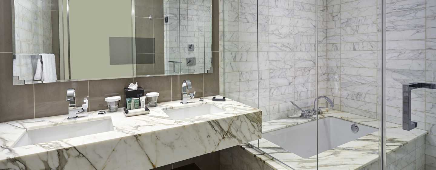 New York Hilton Midtown, NY - Baño de la suite Presidential
