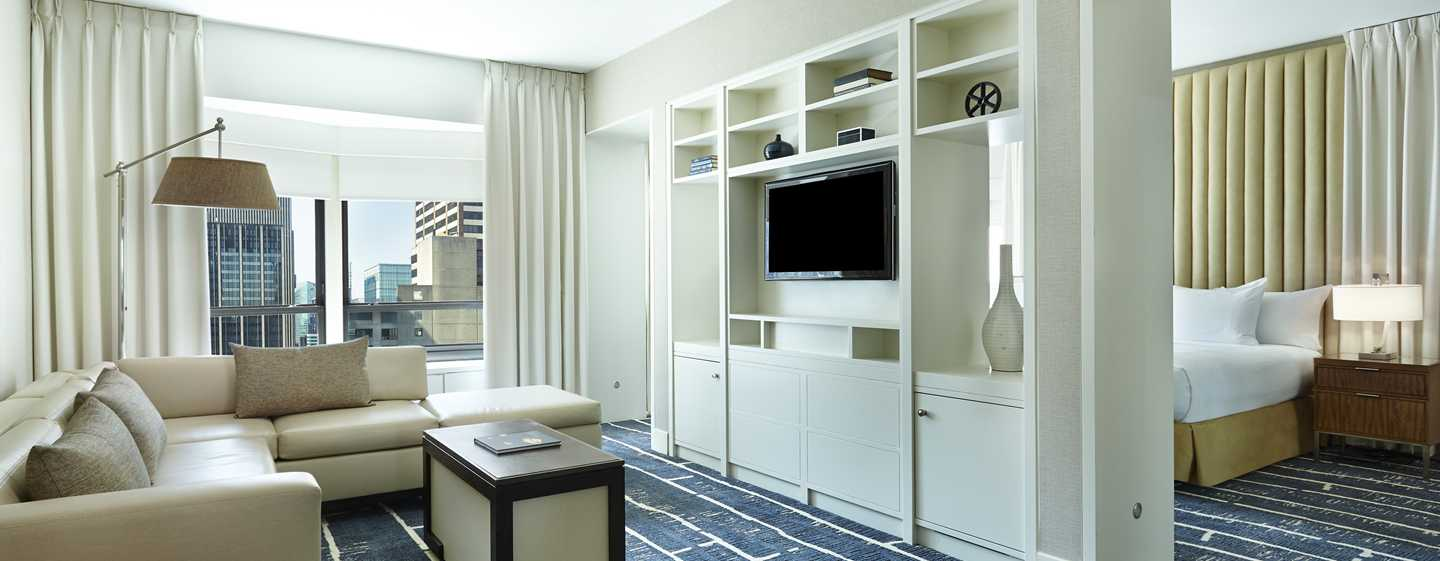 New York Hilton Midtown, NY - Dormitorio de la suite Presidential