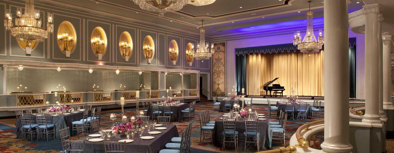 New York Hilton Midtown, NY - Salón de fiestas Trianon