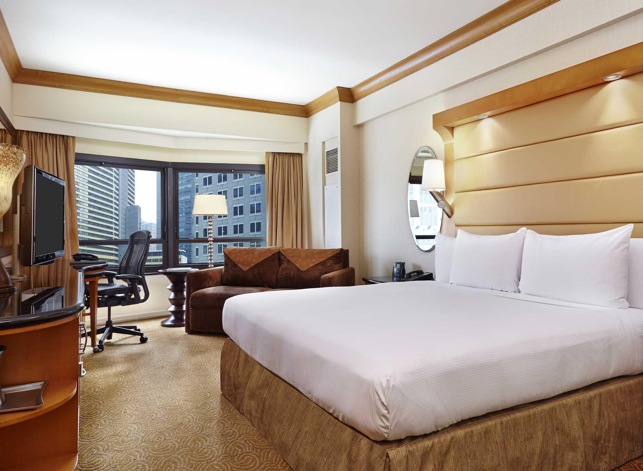 New York Hilton Midtown Premier Room  Double Beds