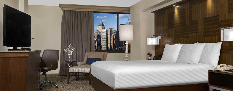 hilton times square hotel. Black Bedroom Furniture Sets. Home Design Ideas