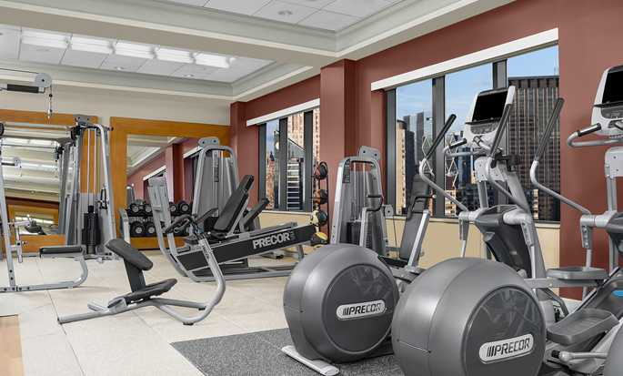 Hilton Times Square Hotel, New York, USA - Fitnesscenter