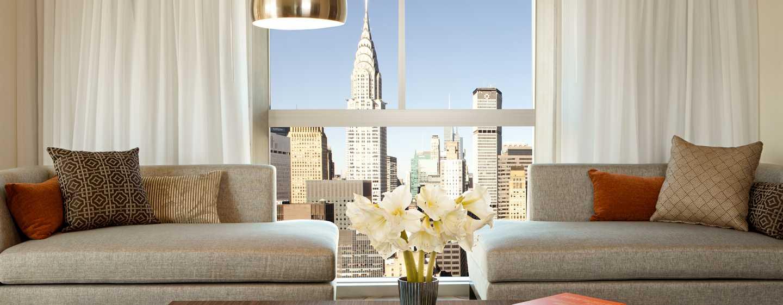 Millennium Hilton NewYork One UNPlaza, USA– Suite mit 2Schlafzimmern