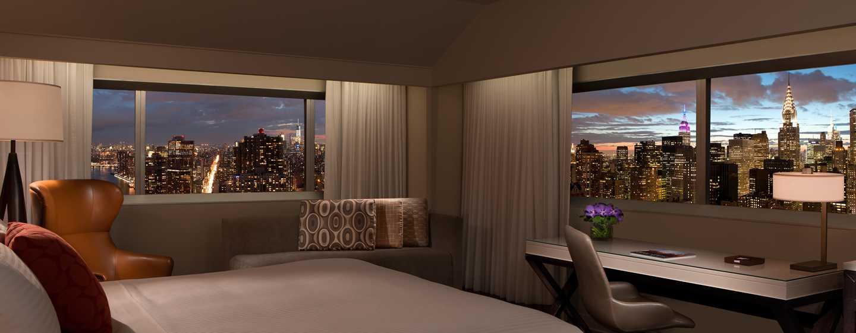 Millennium Hilton NewYork One UNPlaza, USA– Eckzimmer