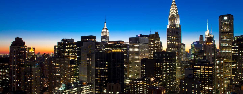 Millennium Hilton NewYork One UNPlaza, USA– Skyline von NewYork