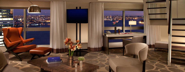 Millennium Hilton NewYork One UNPlaza, USA– Zweistöckige Executive Suite mit 2Zimmern