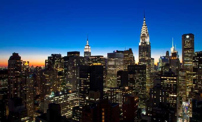 h tel millennium hilton new york one un plaza dans midtown east. Black Bedroom Furniture Sets. Home Design Ideas