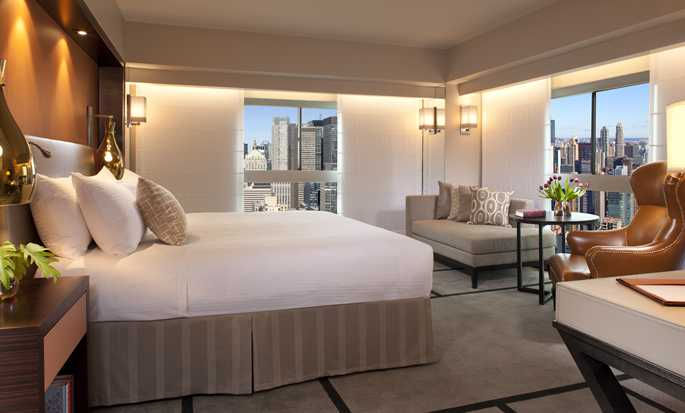 Millennium Hilton New York One UN Plaza, EUA – Quarto King de esquina