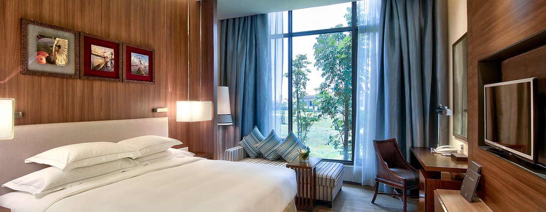 Hotel Hilton Nay Pyi Taw, Myanmar - Kamar Tamu dengan Tempat Tidur King