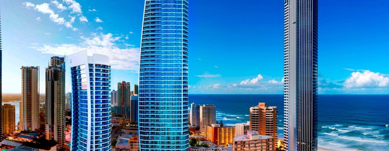 โรงแรม Hilton Surfers Paradise ออสเตรเลีย - ภายนอกโรงแรม Hilton Surfers Paradise