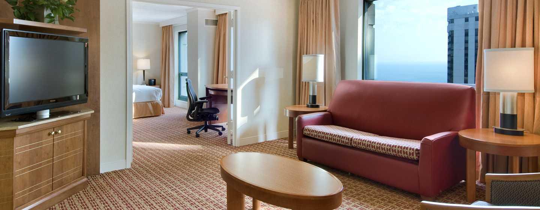 Hilton Chicago/Magnificent Mile Suites Hotel, USA– Präsidenten Suite