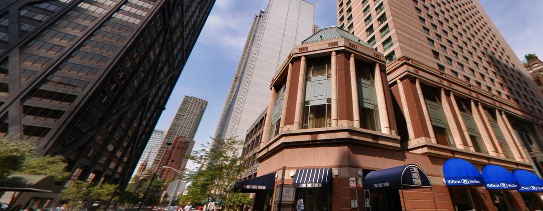 Hilton Chicago/Magnificent Mile Suites Hotel, USA– Außenbereich