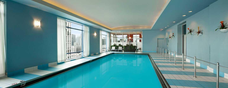 Hilton Chicago/Magnificent Mile Suites Hotel, USA– Innenpool