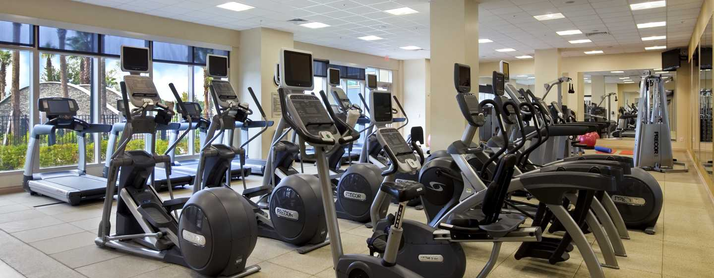 Hilton Orlando Bonnet Creek, Florida, USA – Fitnessstudio