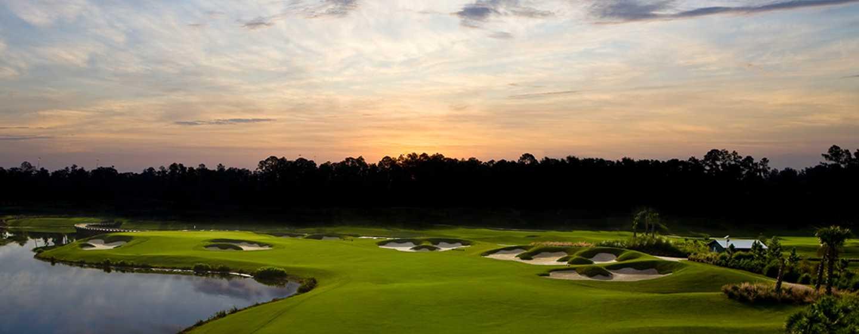 Hôtel Hilton Orlando Bonnet Creek, Floride, États-Unis - Parcours de golf