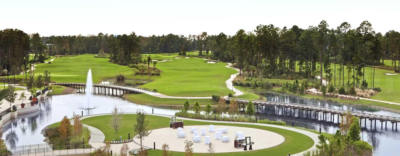 Hôtel Hilton Orlando Bonnet Creek, Floride, États-Unis - The Island