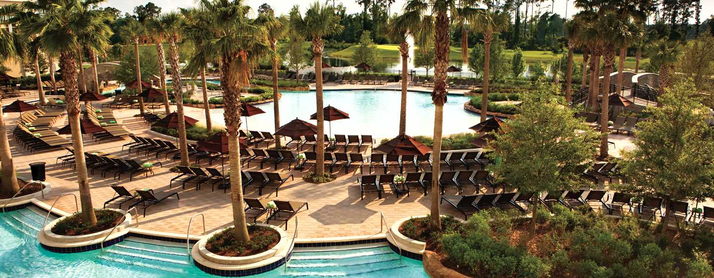 Hilton Orlando Bonnet Creek, Florida, USA – Poolbereich