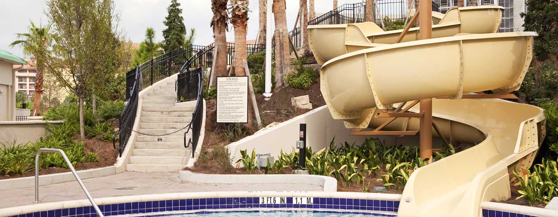 Hôtel Hilton Orlando Bonnet Creek, Foride, États-Unis - Toboggan aquatique