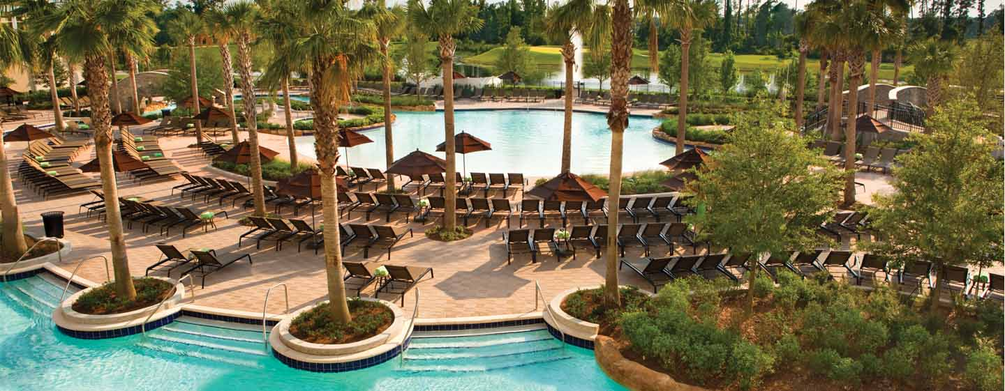 Hilton Bonnet Creek Orlando, USA – Poolbereich