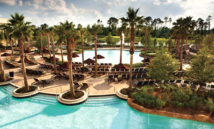 Hilton Orlando Bonnet Creek, FL Hotel – Pool med artificiell flod