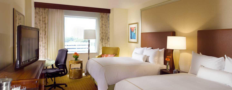 Hotel Hilton Orlando, Florida - Habitación con dos camas Queen