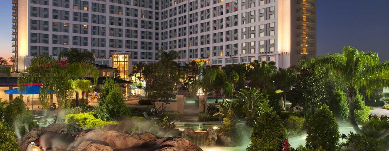 Hotel Hilton Orlando, Florida - Fachada del hotel