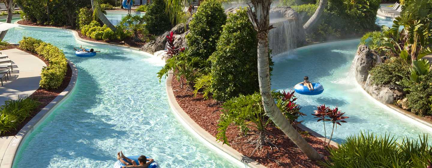 Hilton Orlando Hotel, Florida, USA – Lazy River