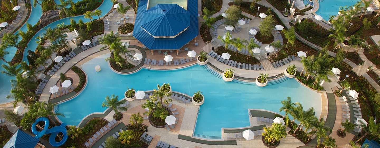 Hotel Hilton Orlando, Florida - Piscina principal del resort