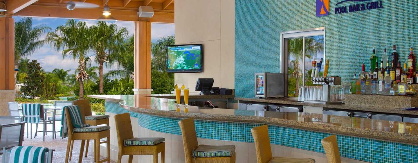 Hotel Hilton Orlando, Florida - Tropic's Pool Bar & Grill