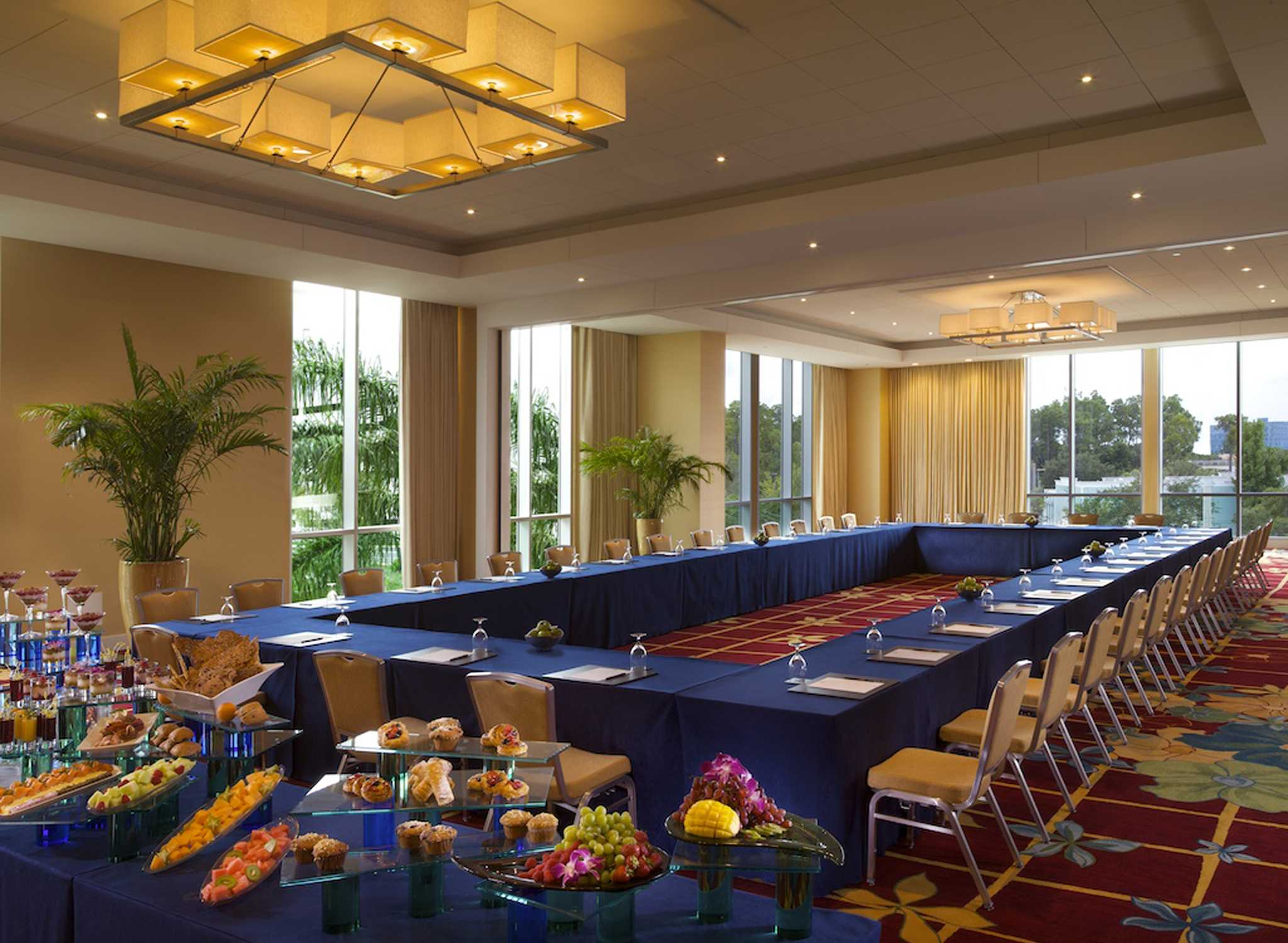 Hilton Orlando Hotel Florida Usa Meetingraum