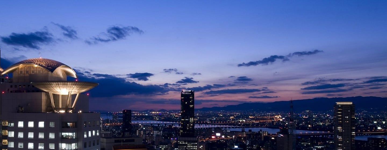 Hilton Osaka Hotel, Japan – Gute Anbindung an den Flughafen, den öffentlichen Nahverkehr und die historischen Städte Kyoto und Nara