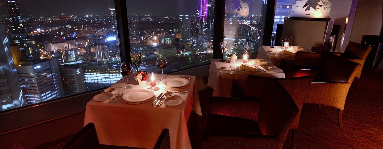 Hilton Osaka Hotel, Japan – Windows on the World