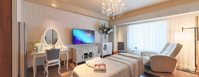Hilton Osaka Hotel, Japan – Entspannungssalon auf Etage 22F