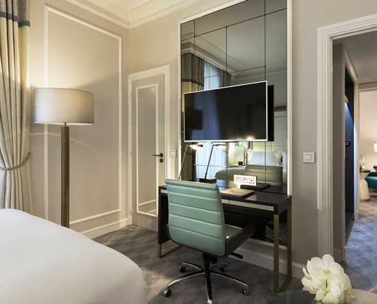 Hilton Paris Opera, Frankrijk - Executive suite met queensize bed