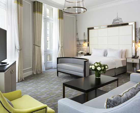 Hilton Paris opera, France - Suite King